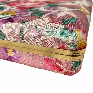 Vintage Storage & Organization - floral vintage notebook style jewelry case